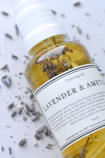 Country Kitchen - Lavender and Amethyst - Calming oil