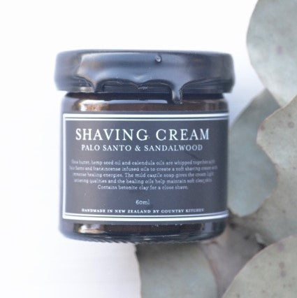 Country Kitchen - Shaving Cream | Palo santo and Sandalwood