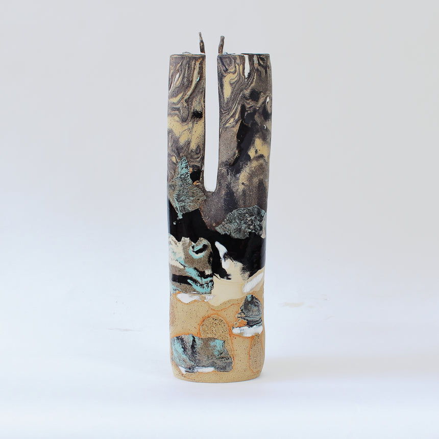 Crevasse Vase - Low tide series