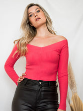 Load image into Gallery viewer, All I See Off The Shoulder Sweater Top - Finding July