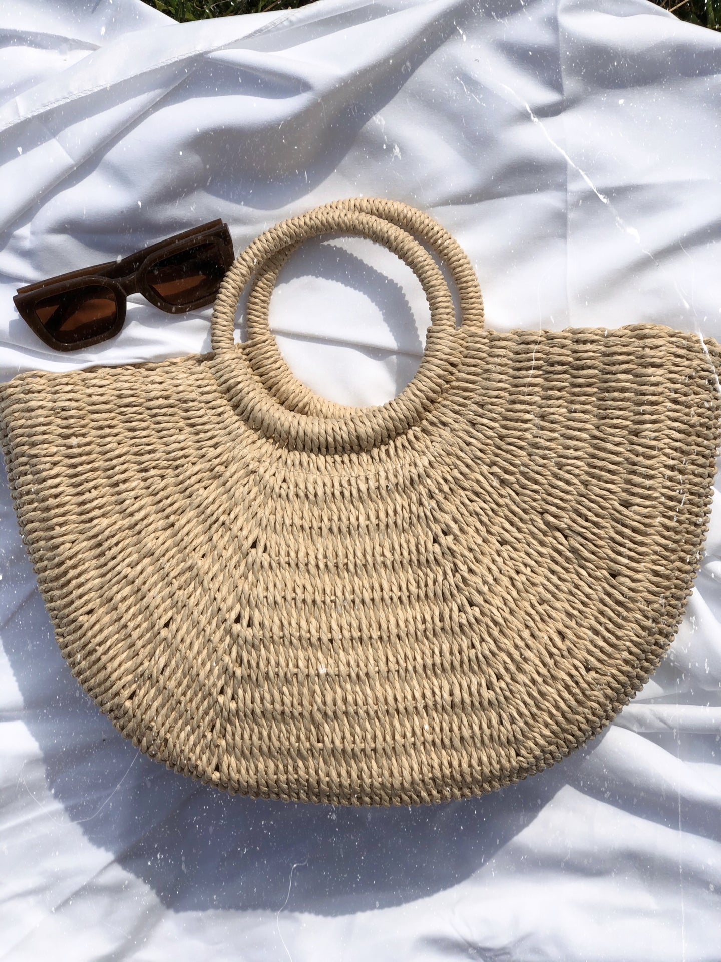 Big Woven Bag - Finding July