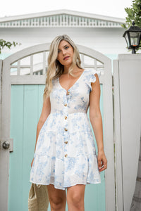 Bluebell Floral Dress - Finding July