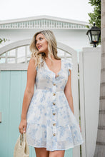 Load image into Gallery viewer, Bluebell Floral Dress - Finding July