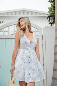 Bluebell Floral Dress