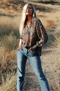 Born This Way Leopard Blouse - Finding July