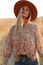 Load image into Gallery viewer, Born This Way Leopard Blouse - Finding July