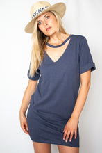 Load image into Gallery viewer, Coastal T-Shirt Dress- [Finding_July]