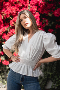 Colour Me Spring Blouse - Finding July