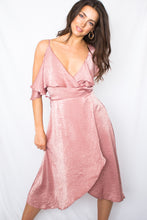 Load image into Gallery viewer, Coming Up Roses Midi Dress-[finding_july]
