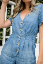 Load image into Gallery viewer, Country Life Denim Romper