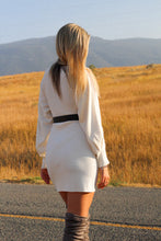Load image into Gallery viewer, Cream Dream Sweater Dress - Finding July