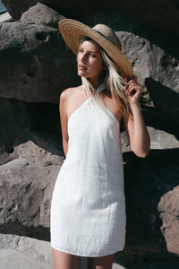 Darling Halter Tie Dress-[finding_july]