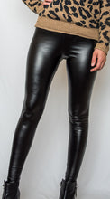 Load image into Gallery viewer, Fame Faux Leather Leggings-[finding_july]