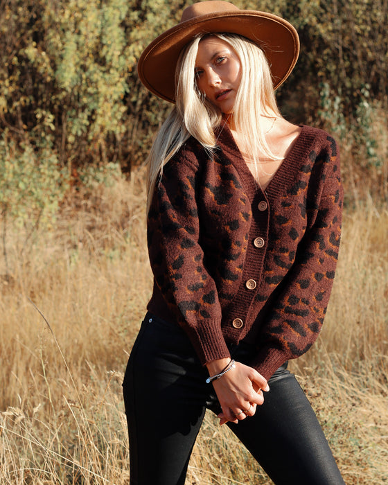 Feeling Fall Leopard Cardigan - Finding July