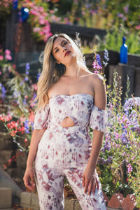 Floral Jasmine Jumpsuit - Finding July