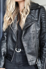 Load image into Gallery viewer, Highway 1 Vegan Leather Jacket - Finding July