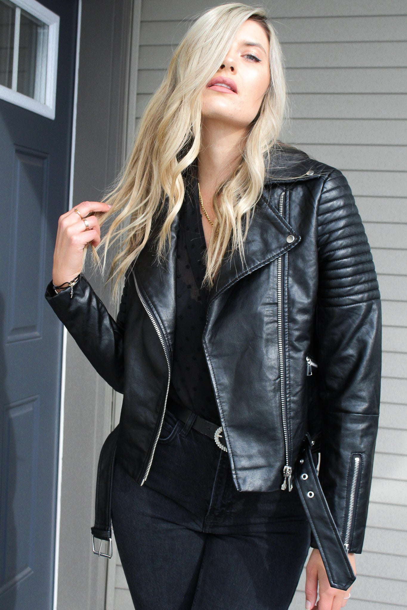 Highway 1 Vegan Leather Jacket - Finding July