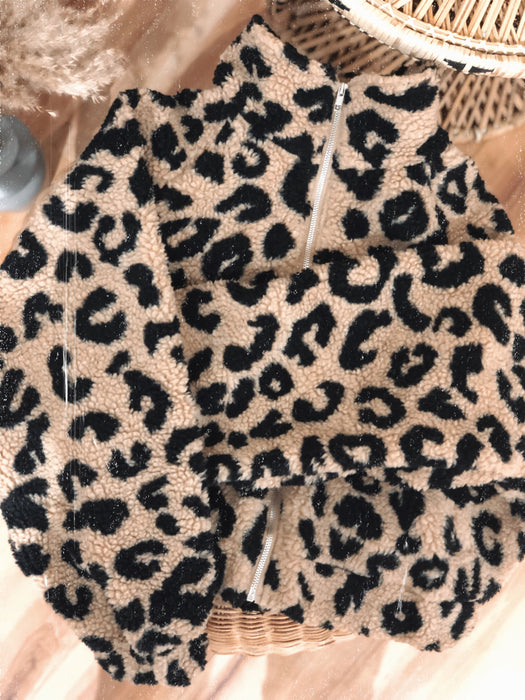 Izabela Leopard Jacket - Finding July
