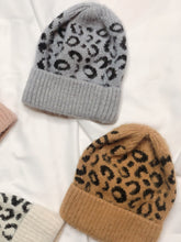 Load image into Gallery viewer, Leopard Touque - Finding July