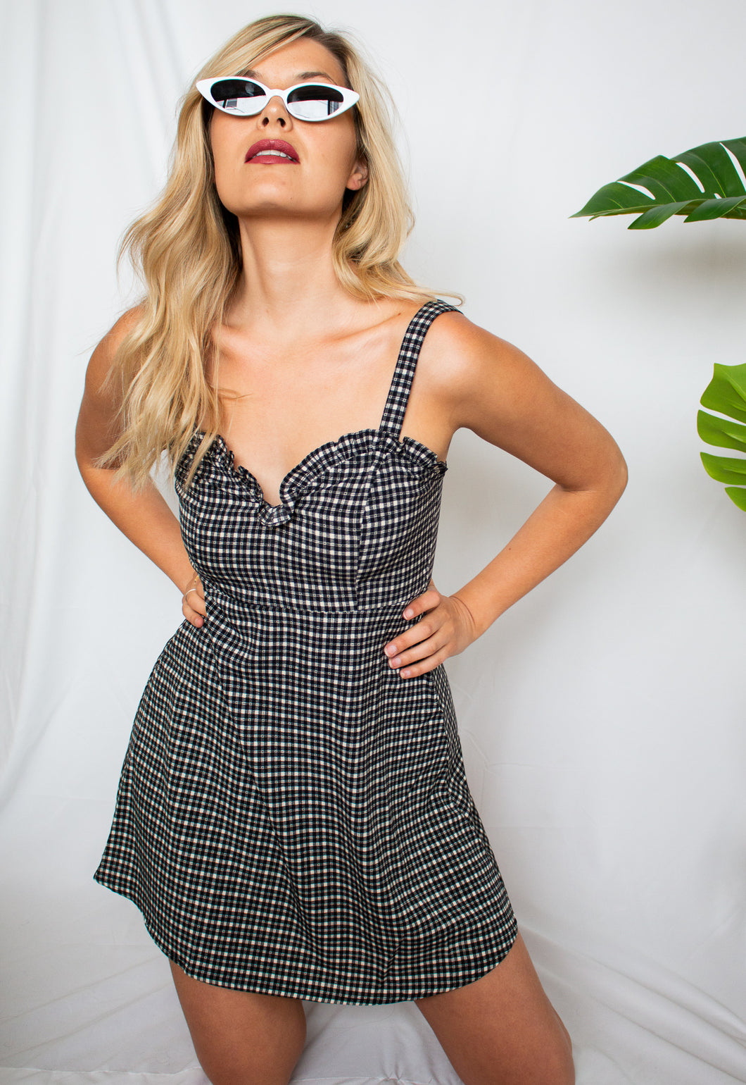 London Calling Plaid Dress - Finding July