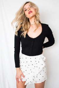 Meet Me In Paris Polka Dot Skirt - Finding July