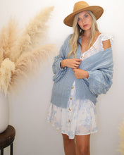 Load image into Gallery viewer, Pure Magic Bubble Sleeve Cardigan - Finding July