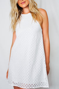 Sand Castles Halter Tie Dress - Finding July