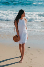 Load image into Gallery viewer, Sand Castles Halter Tie Dress- [Finding_July]