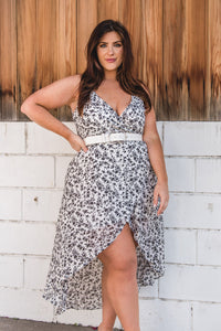 Seasons Change Wrap Dress - Finding July
