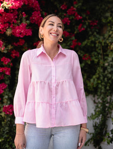 Spring Fling Tiered Top - Finding July