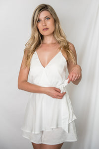 Strut Your Stuff Silk Romper - Finding July