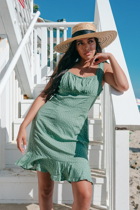 Tango Dress in Sage - Finding July