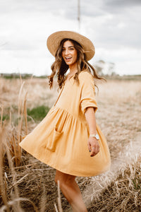 The Ray Babydoll Dress - Finding July