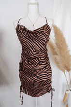 Load image into Gallery viewer, Zone in Zebra Print Dress-[finding_july]
