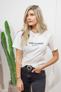 Aint Laurent Graphic Tee - Finding July