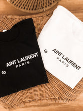 Load image into Gallery viewer, Aint Laurent Graphic Tee - Finding July