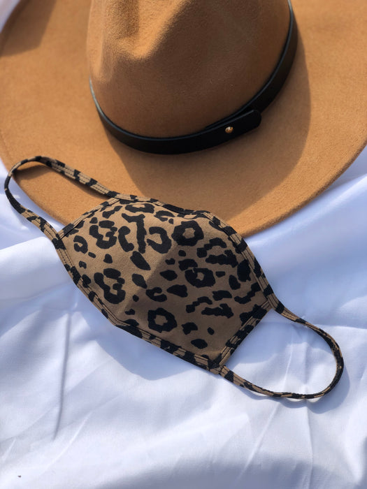 Leopard Reusable Face Mask - Finding July