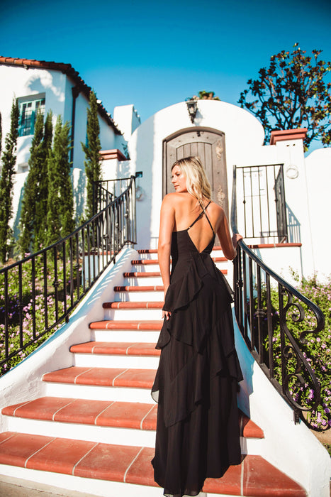 Cheers Tiered Maxi Dress - Finding July