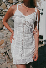 Load image into Gallery viewer, Laguna Lace Up Dress - Finding July