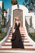 Load image into Gallery viewer, Cheers Tiered Maxi Dress-[finding_july]
