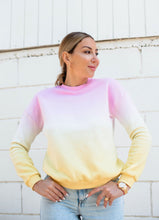 Load image into Gallery viewer, Pink Lemonade Ombre Sweatshirt - Finding July