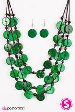 Load image into Gallery viewer, Tiki Tango - Green - Paparazzi Accessories