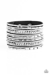 Wham Bam Glam - Black/White - Paparazzi Accessories