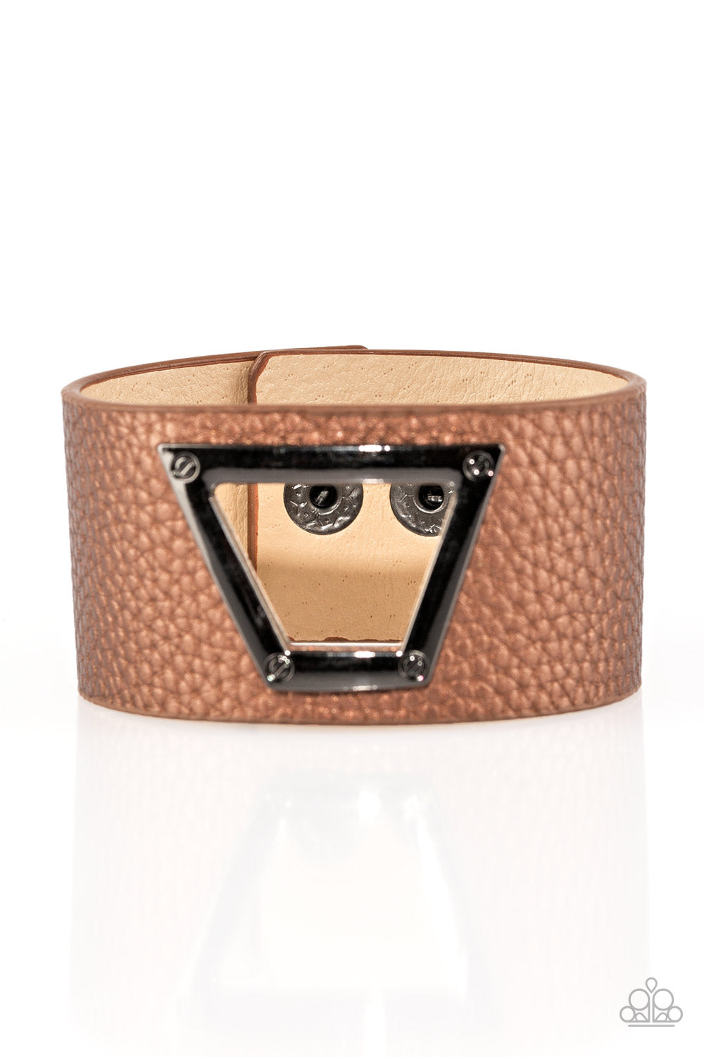 Power Play - Brown - Paparazzi Accessories