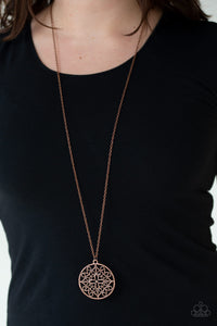 Mandala Melody - Copper - Paparazzi Accessories