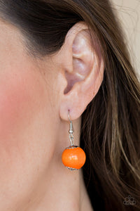 Caribbean Cover Girl - Orange - Paparazzi Accessories