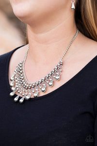 Don't Forget To BOSS! - Silver - Paparazzi Accessories