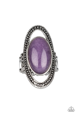 Western Royalty - Purple - Paparazzi Accessories
