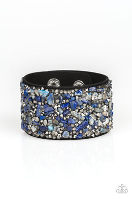 Crush Rush - Blue - Paparazzi Accessories