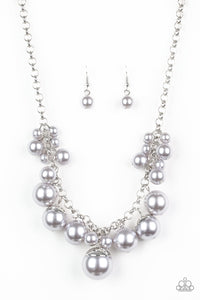 Broadway Belle - Silver - Paparazzi Accessories